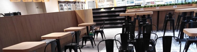 Panelados y Mobiliario en Estación de Servicio Galp. Antequera